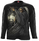 SPIRAL DIRECT DEATH LANTERN Long Sleeve T-Shirt,Reaper/Biker/Skull/Goth/Gothic