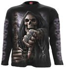 SPIRAL DIRECT BOSS REAPER Long Sleeve T-Shirt,Reaper/Biker/Skull/Bike/Rock/Metal