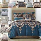 Duvet Cover Set with zipper closure 3-piece Pillowcase Twin Queen King US Size