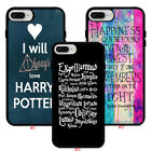 Harry Potter Quote Design Rubber Phone Case Cover For iPhone 5 6 Plus 7 8.