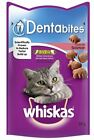 Whiskas Dentabites Cat Treats with Salmon - 50g