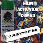 OIL SLICK 3 DIP APE ACTIVATOR FILM COMBO HYDROGRAPHIC WATER TRANSFER