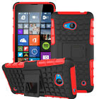 For Nokia Lumia Phones Case Hybrid Rubber Shockproof Stand Hard Defender Cover