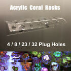 Marine Aquarium Reef Fish Tank Acrylic Coral Rack Bracket Live Holder Sucker
