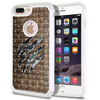 "For Apple iPhone 8 Plus / 7 Plus 5.5"" Hybrid Sparkle Bling Crystal Case Cover"