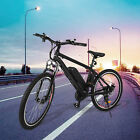 "26"" 36V Fat Tire Electric Bicycle Bike Ebike Mountain Beach 10ah Lithium Battery"