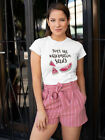 Dont Eat Watermelon Seeds Funny Women's Tee -Image by Shutterstock