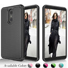 Внешний вид - For LG Stylo 4 / LG Stylus 4 Shock Absorbing Bumpr Rubber Hard Shell Case Cover