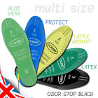 Shoe Boots Insoles Antibacterial Aroma, Active, Aloe Vera, Carbon - Cut to Size