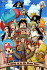 122513 One Piece Animee Decor WALL PRINT POSTER UK
