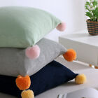 """Lovely Hit Color Knitting Cushion Cover Soft Warm Pillow Case Home Decor 18""""*18"""" image"""