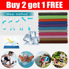 Buy 2 get 1 free ice Cooling Towel for Sports/Workout/Fitness/Gym/Yoga/Pilates image