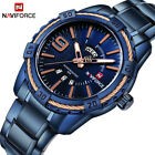 Naviforce 9117 Men Luxury Stainless Sport Waterproof Quartz Watch from NY, USAWristwatches - 31387