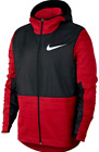 Nike mens Winterized Basketball Therma Full Zip red Jacket  S L XL