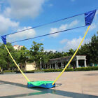 Outdoor Portable Badminton Set Battledore With Box Stand Tennis Volleyball Net