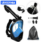 Купить Full Face Mask Swimming Underwater Diving Snorkel Scuba For GoPro Glass Anti-Fog