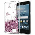 Cute Bling Shiny Moving Quicksand Liquid Soft TPU Case Cover For ZTE Phone