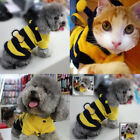 Costume Clothes Cat T-shirt Dog Pet Puppy Outfit Bee Coat Fancy Hoodie XS-XXXL