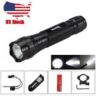 5000LM LED Tactical Flashlight Torch with Weaver Picatinny Rifle Mount & SwitchLights & Lasers - 106974