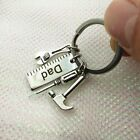 New Father's Gift Metal Mini Hammer Bag Pendant Key Chains Hand Tools Keyring