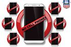 no phone buy - NO CELL PHONES warning office equipment computer decal Sticker BUY 5 GET 1 FREE