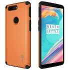 For OnePlus 5T Hard Case with Embedded Metal Plate Protective Slim Phone Cover