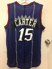 #15 Vince Carter Throwback Toronto Raptors Mens Stitched Jersey NWT