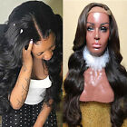 Virgin Hair Lace Front Wig Brazilian Remy Human Hair Loose Wave Wig For African