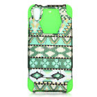For HTC Desire 626/626S Design Dual Layer Hybrid Armor Shockproof Stand Case