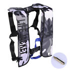Adult CO2 Automatic Inflatable PFD Life Jacket Vest Preserver Premium Quality US