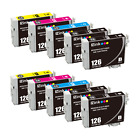 126 T126 Remanufactured Ink Cartidges For Epson WF3530 3540 7010 7510 7520 845