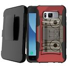 For [Samsung Galaxy Note 8] Holster Clip Dual Shockproof stand Case