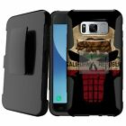 Holster Case for [Samsung Galaxy S8 Active] Belt Dual Layer Shockproof Stand
