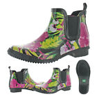 Cougar Women's Regent Waterproof Ankle Rain Boots Booties Floral Rubber <br/> 20% Off Until 8/29/19 at 11:59PM PST