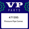 471595 Volvo penta Pressure pipe connec 471595, New Genuine OEM Part