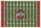 Ohio State University Buckeyes Football Field Rug