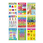 Educational Preschool Posters for Toddlers and Kids for Preschool & Kindergarten