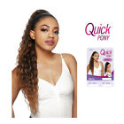 Внешний вид - Outre Quick Ponytail Drawstring Hair Extension Hairpieces Long Curly Wavy -Nikka