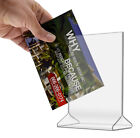 Внешний вид - Product Information Double Sided Menu Counter Table Tent Display Stand Frame