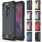 Case For Motorola Moto G7 G6 E5 Play Z4 Forge Rugged Armor ShockProof TPU Cover
