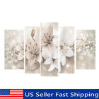 5Pcs Abstract Flower Canvas Print Art Painting Wall Picture Modern Home Decor US
