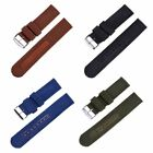 USA Mens Military Army Nylon Fabric Wrist Watch Band Strap Cool 18/20/22/24mm image
