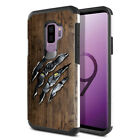 "For Samsung Galaxy S9 Plus / S9+ 6.2"" Slim Impact Hybrid TPU Hard Case Cover"