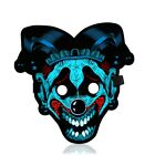 Halloween LED Rave Party Face Mask Equalizer Flashing by Music Luminous Cosplay
