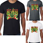 Men Marijuana T-Shirt Pot Head Star Smoke Weed Green Cannabis Tee 420 Leaf S-3XL