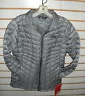 THE NORTH FACE WOMENS THERMOBALL FULL ZIP JACKET-M GREY-S M,L,XL -NWT-AUTHENTIC