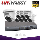 8CH Hikvision Hiwatch CCTV Home Security System 1080P Night Vision Outdoor DVR