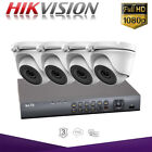 Hikvision Hiwatch CCTV Home Security System HD 1080P HD Night Vision Outdoor DVR