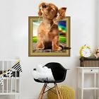 Eco-friendly 3d Cartoon Dog Cat Vinyl Decal Kids Bedroom Rem