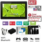 🔥 7'' Tablet Android 8.1 Quad-Core 8GB 1.3GHz HD Dual Camera Bundle Soft Case